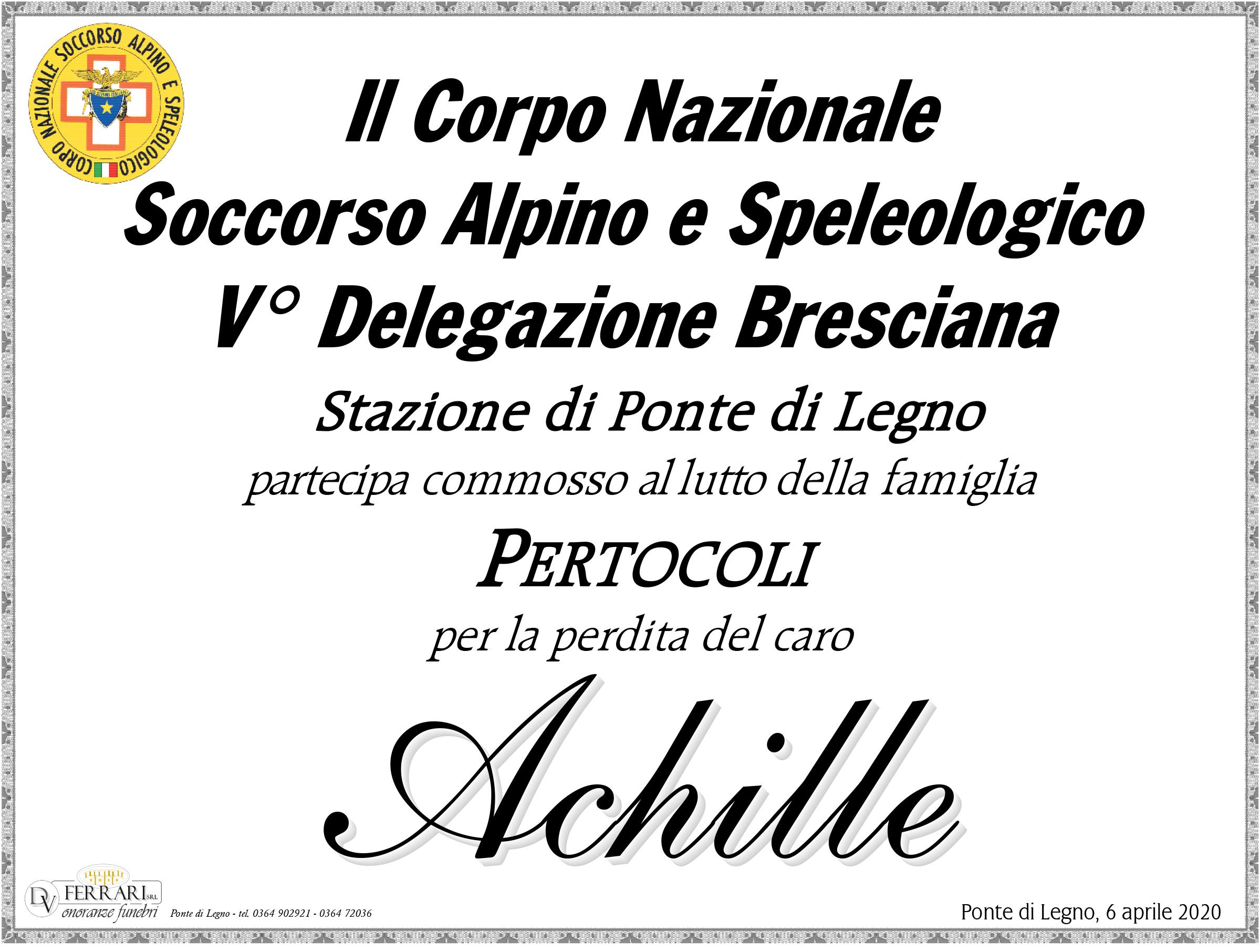 ACHILLE PERTOCOLI - PONTE DI LEGNO - C.N.S.A.S.