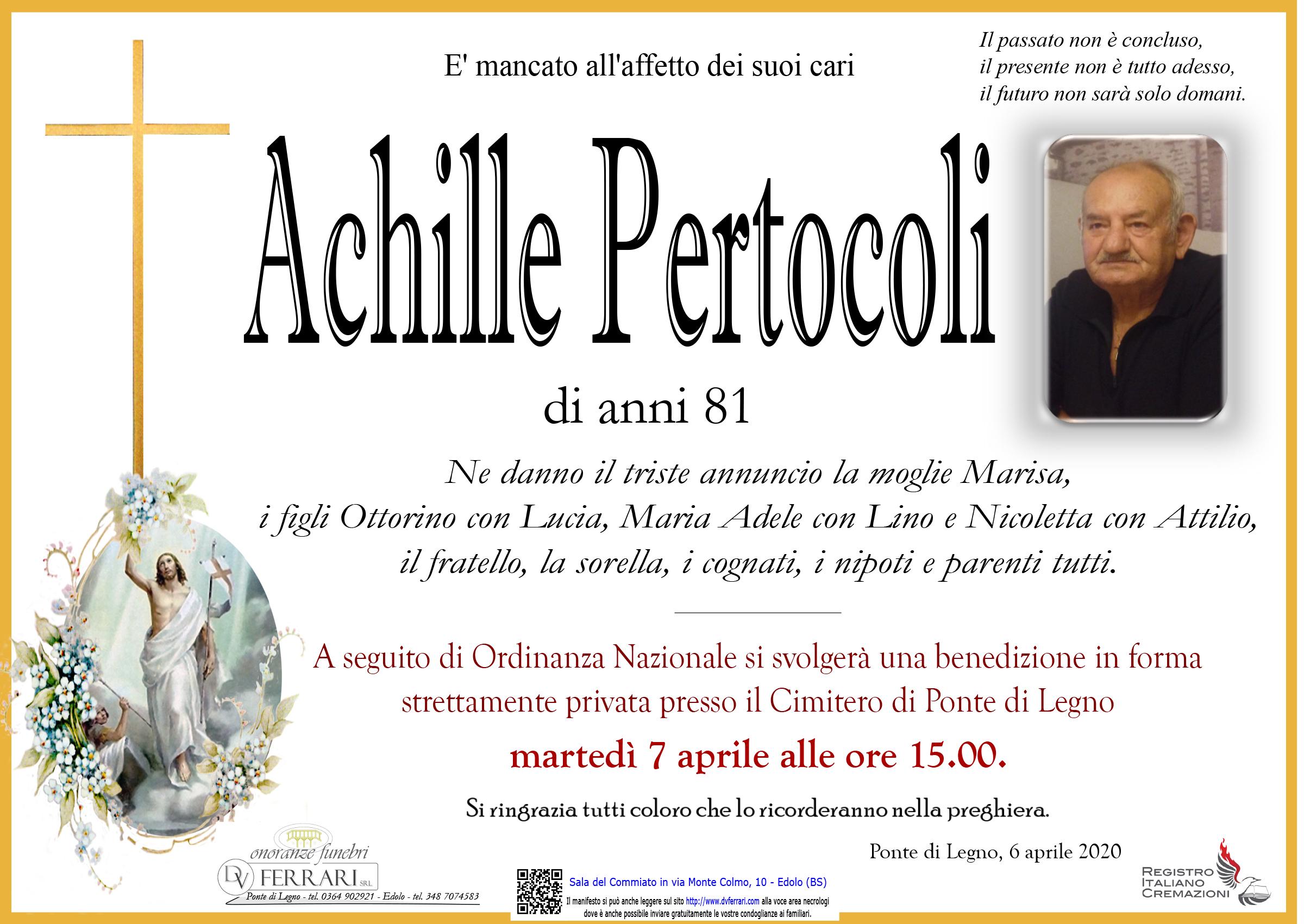 ACHILLE PERTOCOLI - PONTE DI LEGNO