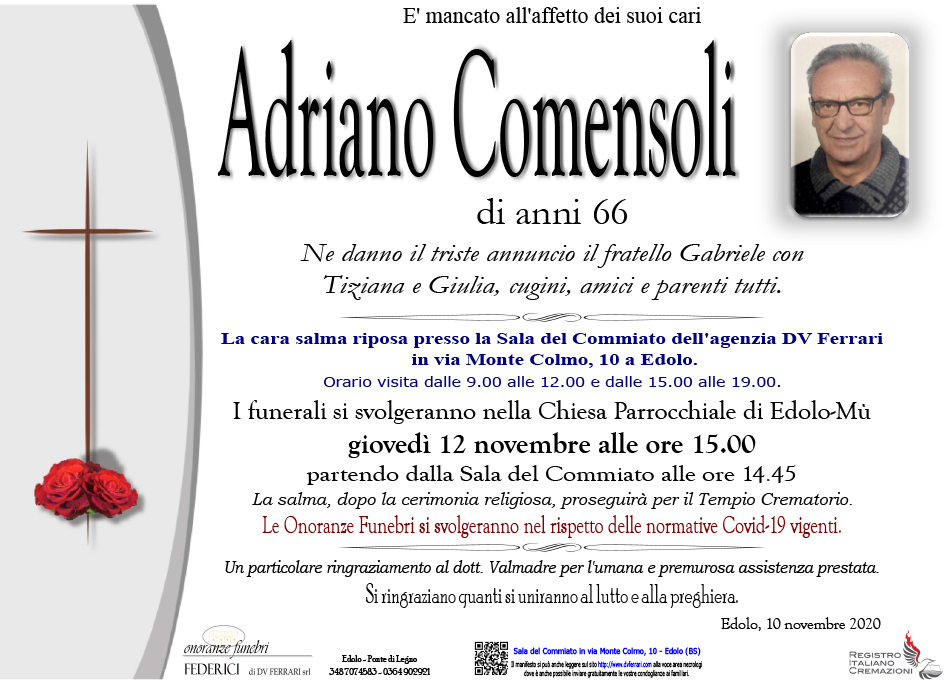 ADRIANO COMENSOLI - EDOLO