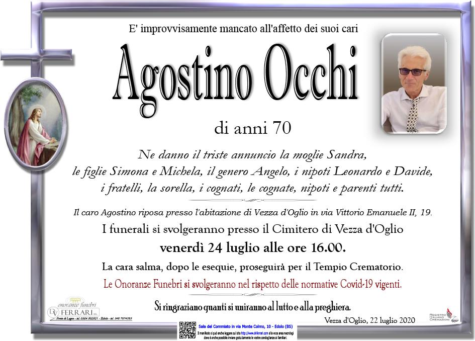 AGOSTINO OCCHI - VEZZA D'OGLIO