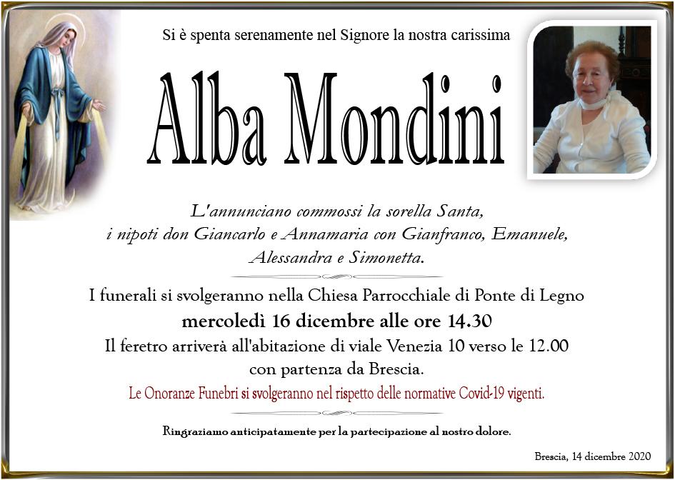 ALBA MONDINI - PONTE DI LEGNO