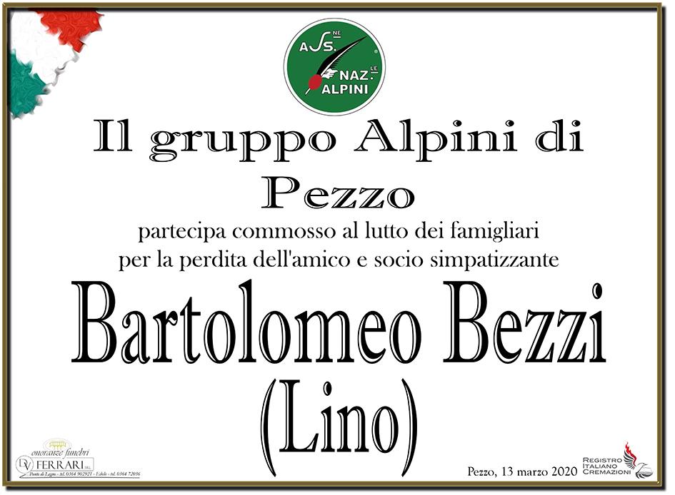 BARTOLOMEO (LINO) BEZZI