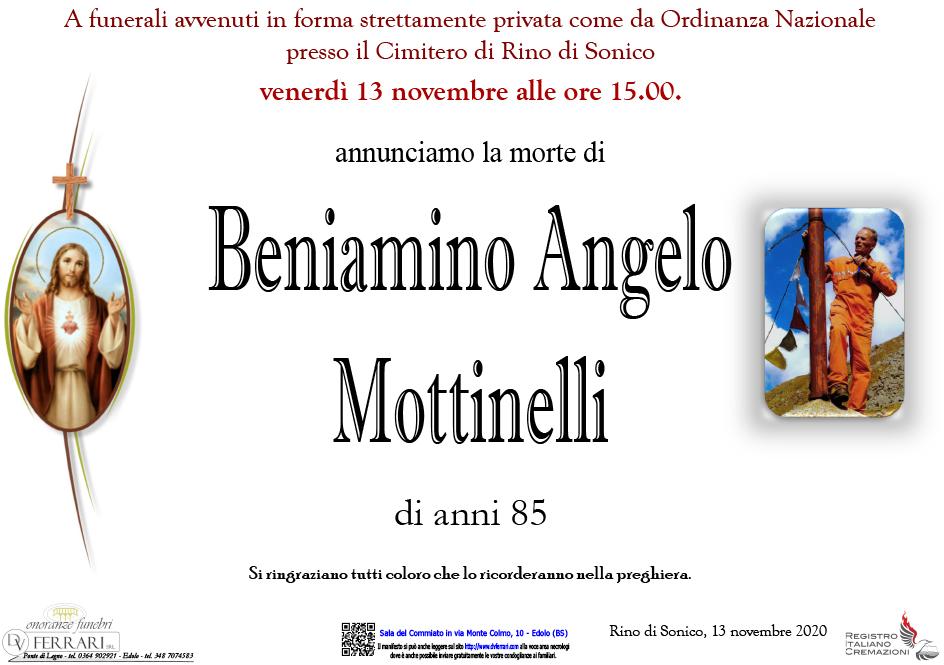 BENIAMINO ANGELO MOTTINELLI - RINO DI SONICO