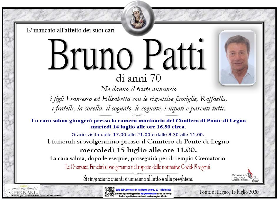 BRUNO PATTI - PONTE DI LEGNO