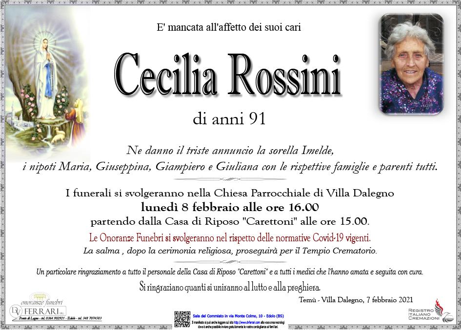 CECILIA ROSSINI - VILLA DALEGNO