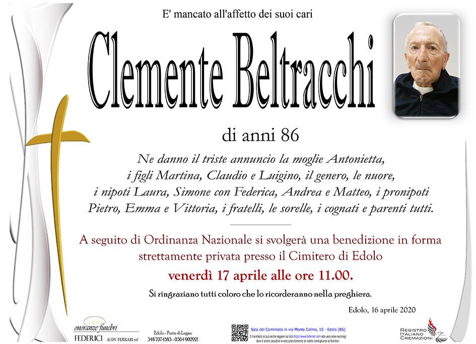 CLEMENTE BELTRACCHI - EDOLO