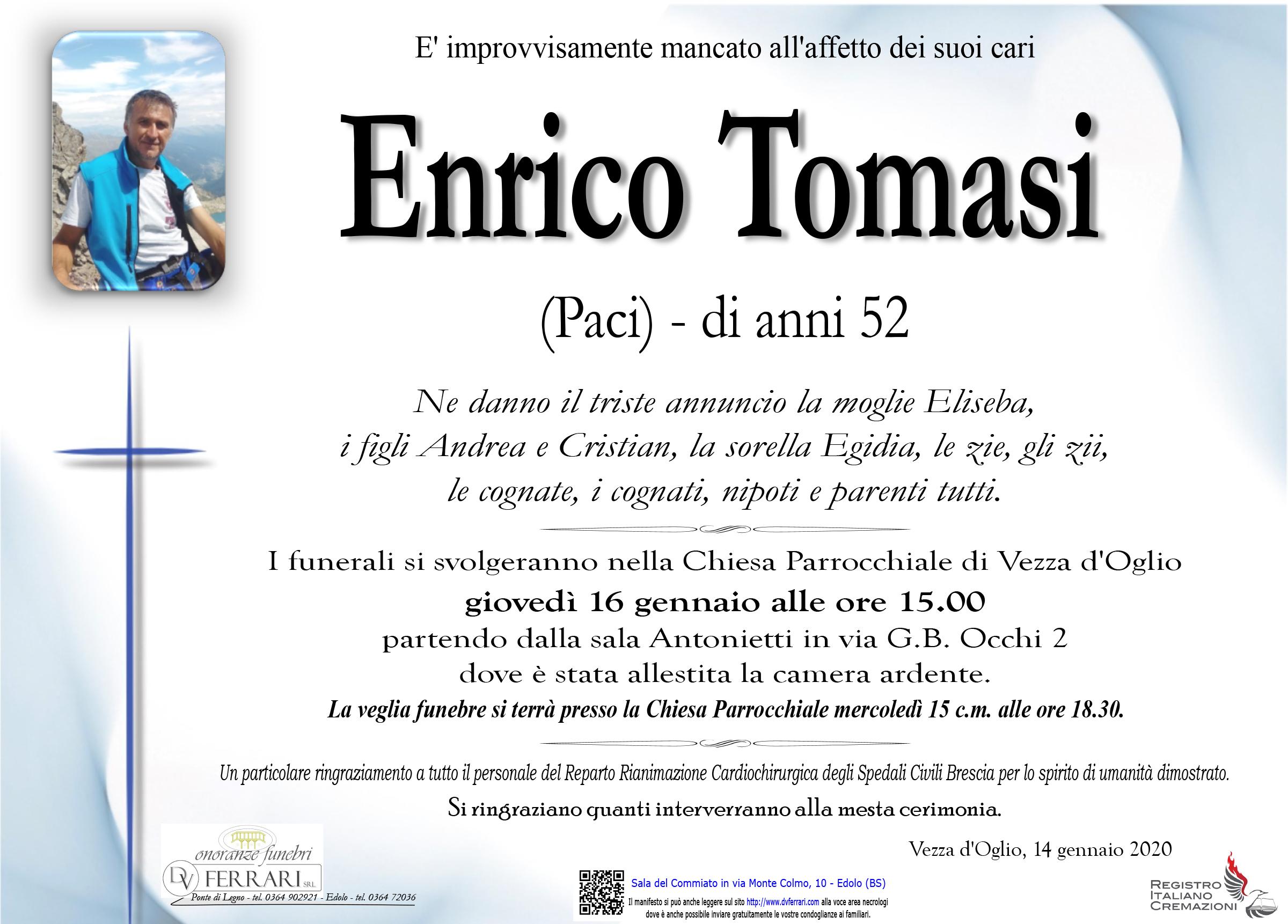 ENRICO TOMASI - VEZZA D'OGLIO