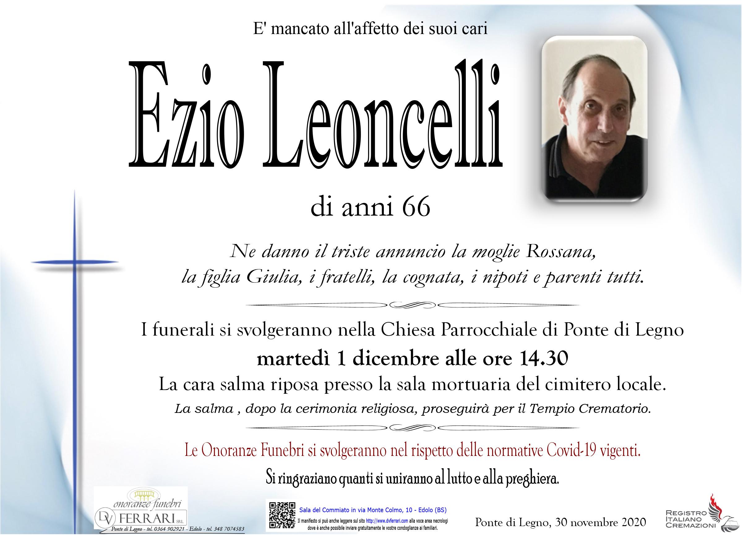 EZIO LEONCELLI - PONTE DI LEGNO