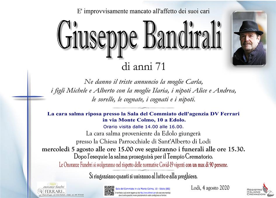 GIUSEPPE BANDIRALI - LODI