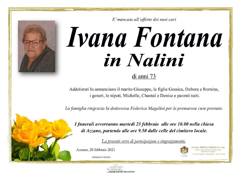 IVANA FONTANA in NALINI - CASTEL D'AZZANO (VR)