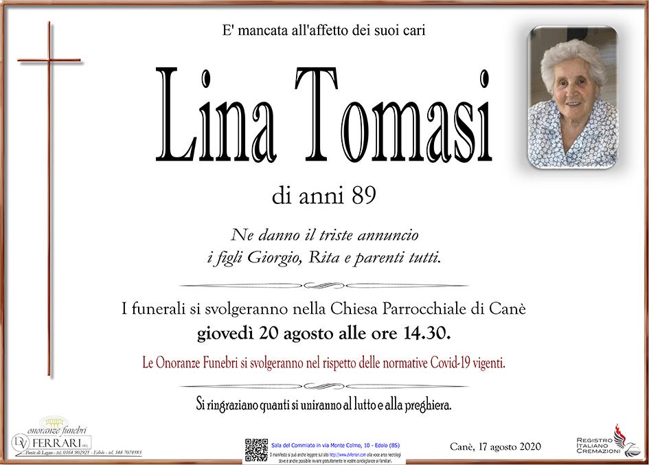 LINA TOMASI - CANE'