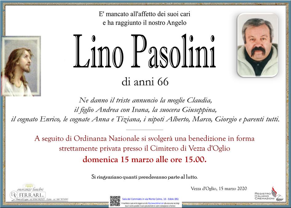 LINO PASOLINI - VEZZA D'OGLIO