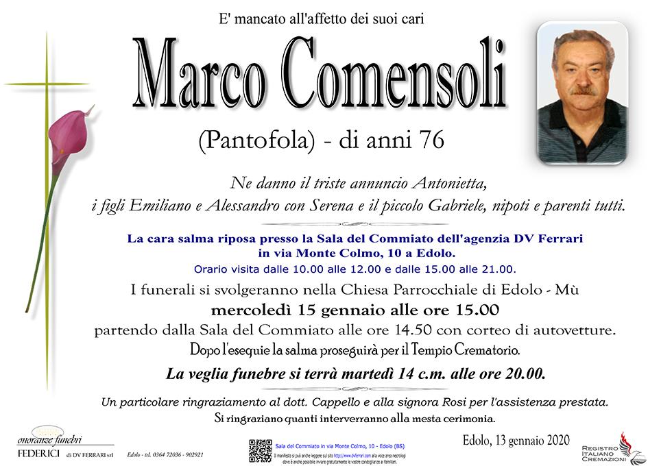 MARCO COMENSOLI - EDOLO