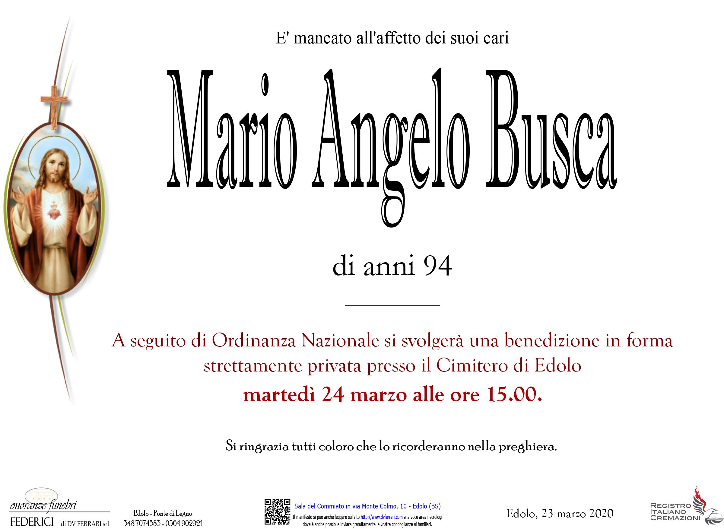 MARIO ANGELO BUSCA - EDOLO