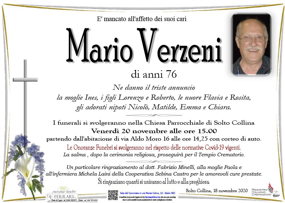 MARIO VERZENI - SOLTO COLLINA