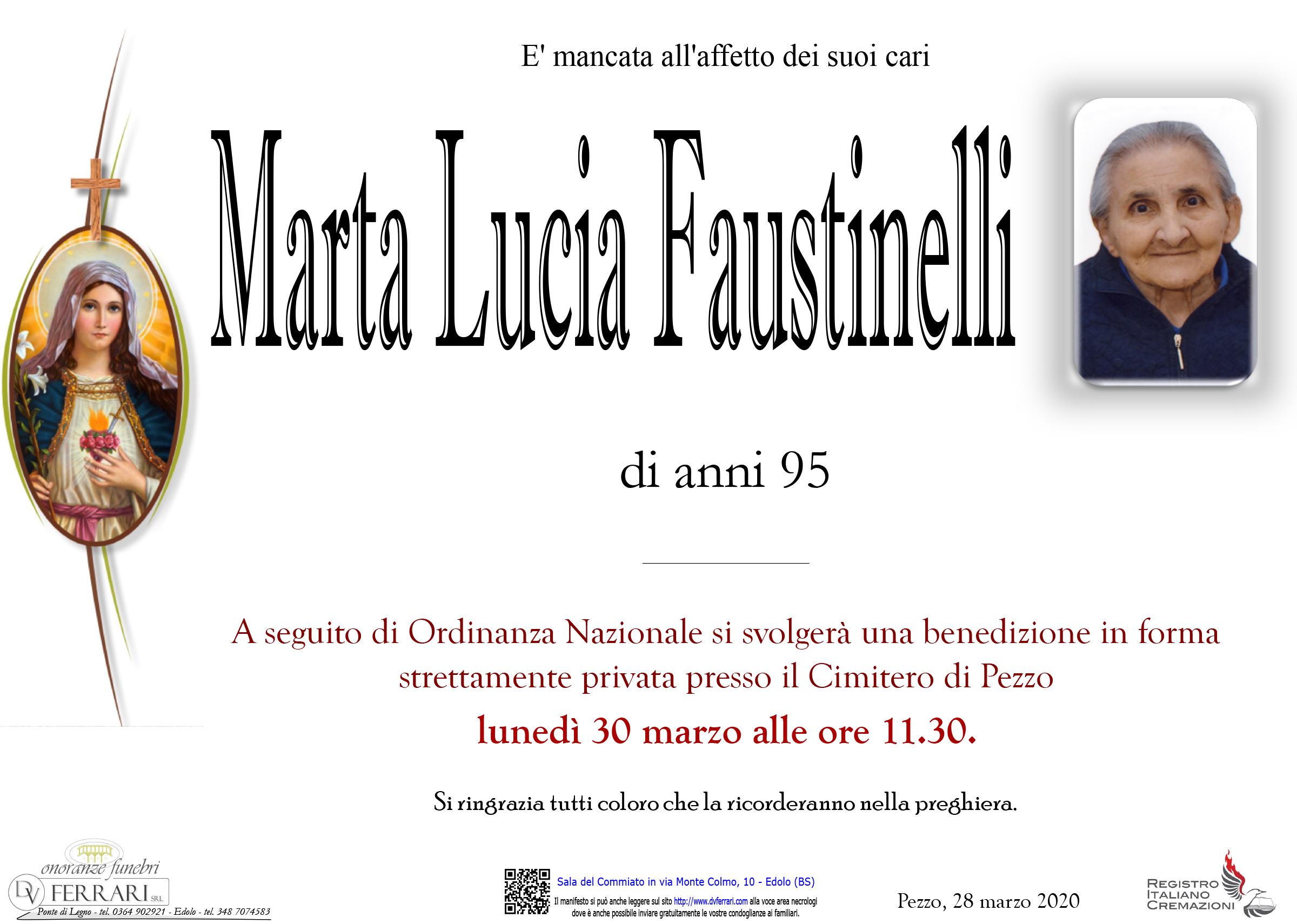 MARTA LUCIA FAUSTINELLI - PEZZO