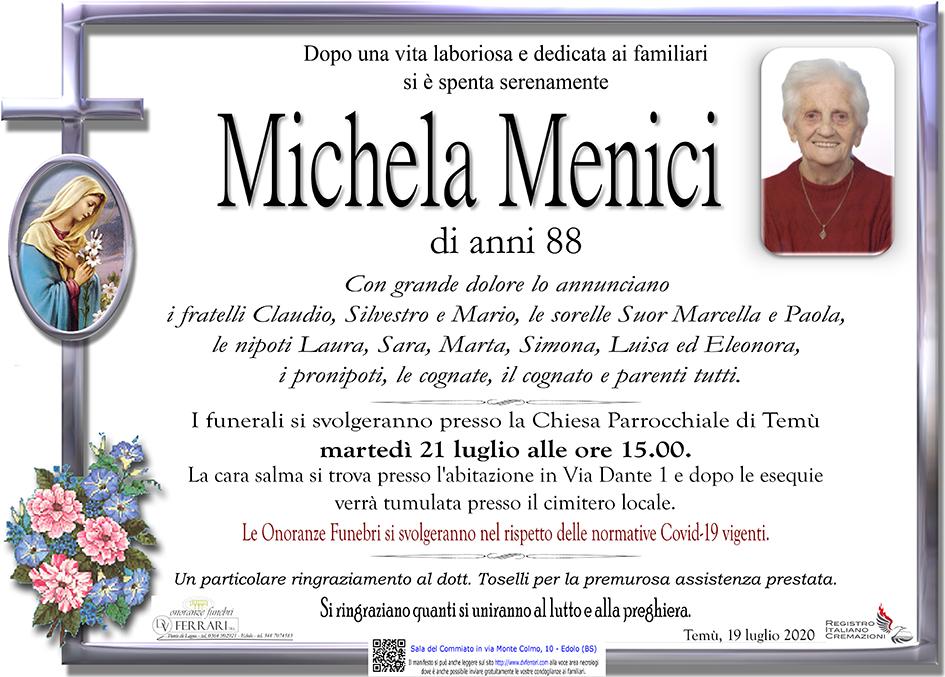 MICHELA MENICI - TEMU'