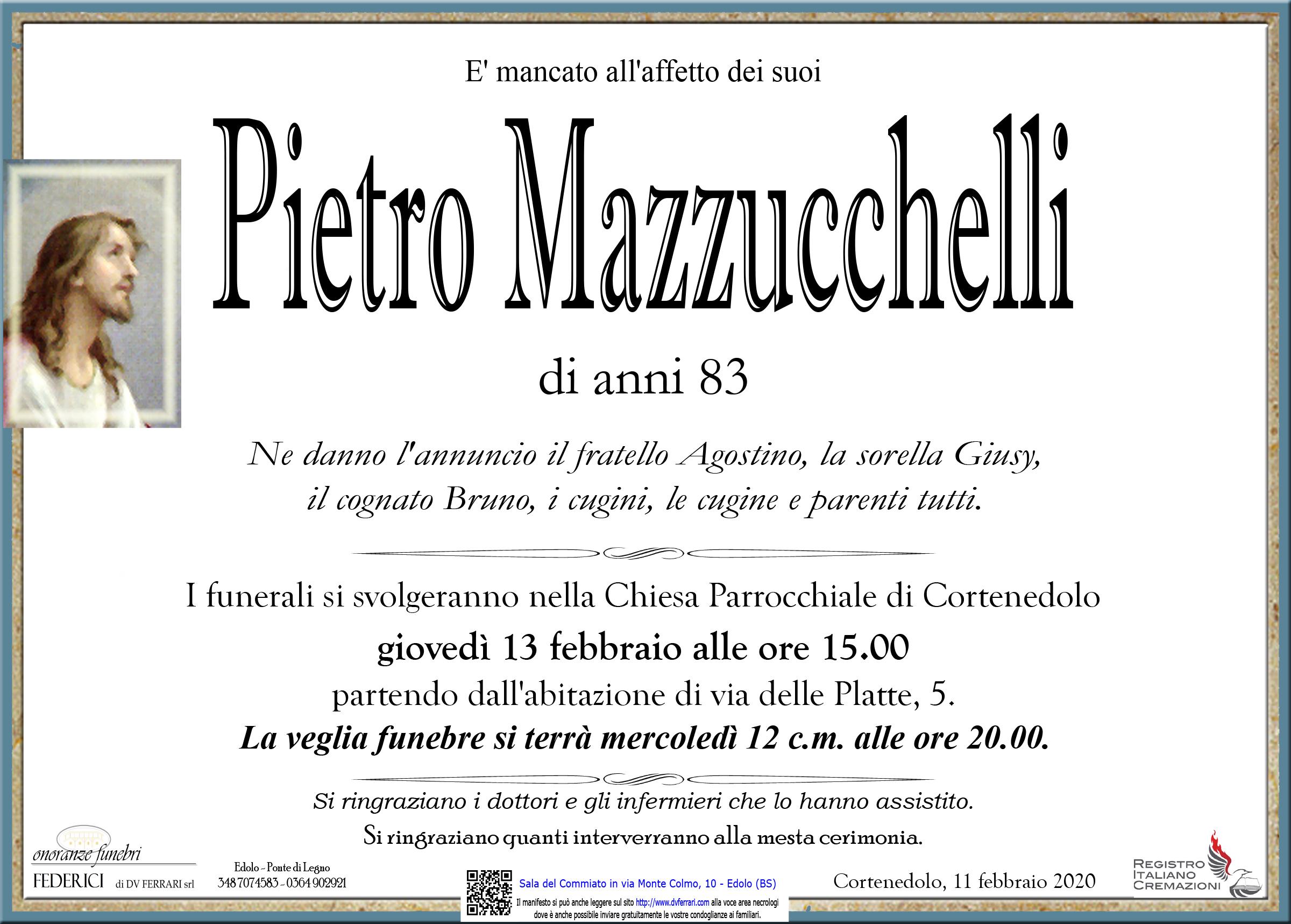 PIETRO MAZZUCCHELLI - CORTENEDOLO