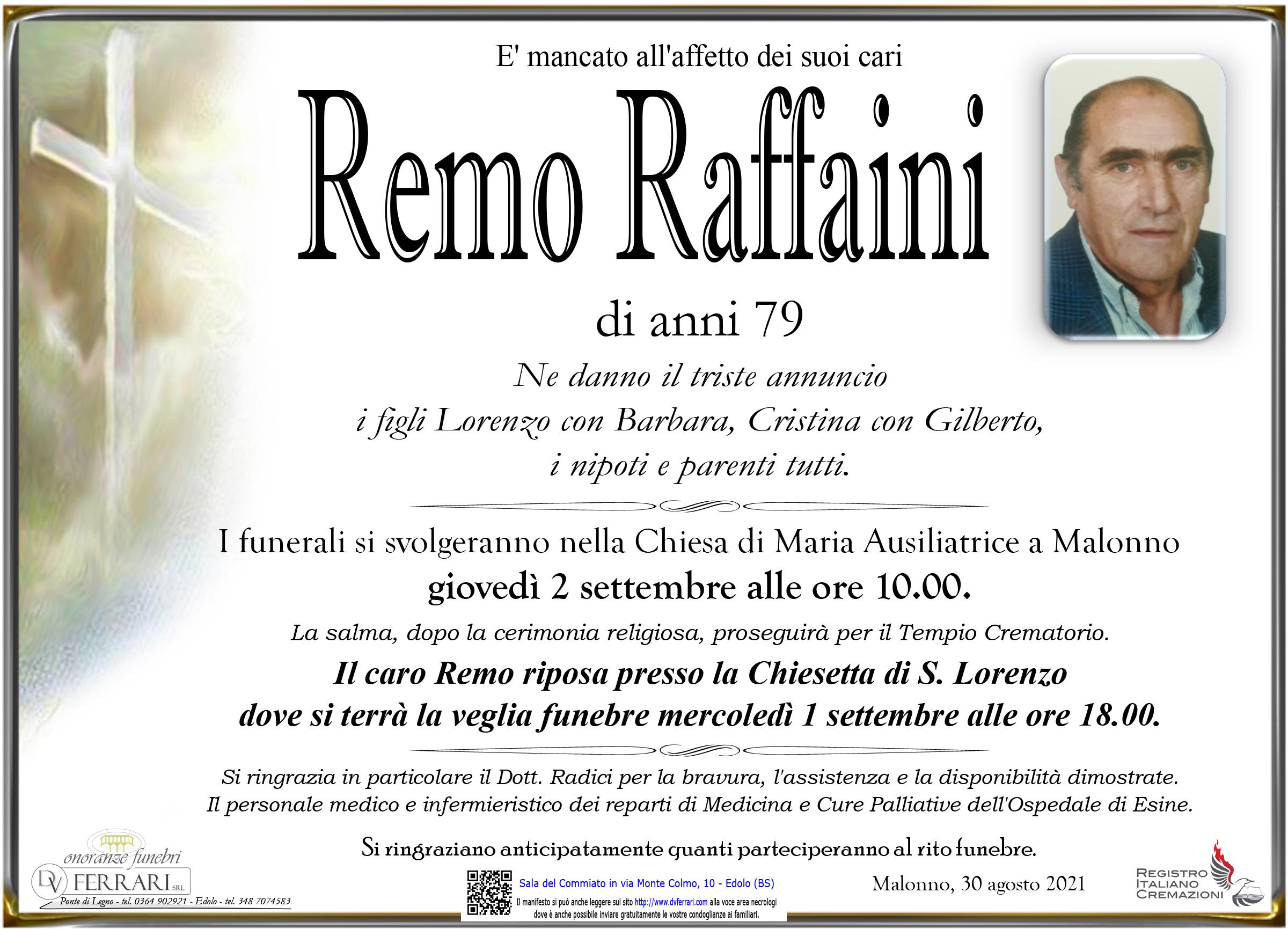 REMO RAFFAINI - MALONNO