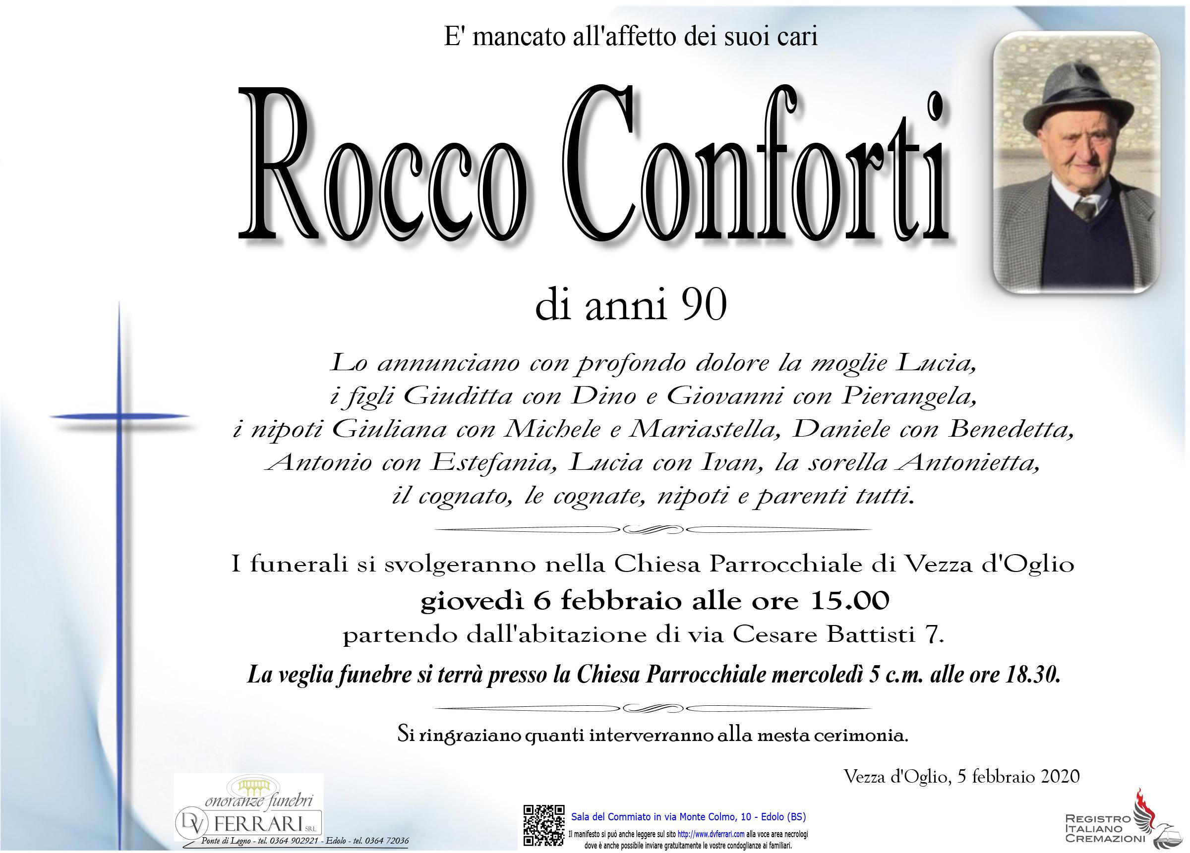 ROCCO CONFORTI - VEZZA D'OGLIO