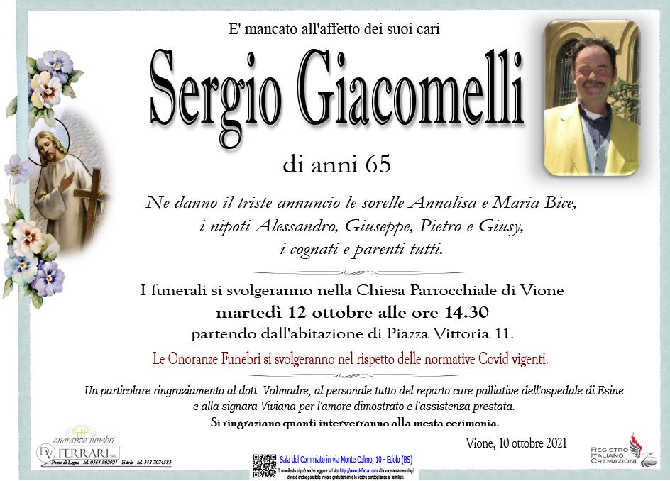 SERGIO GIACOMELLI - VIONE
