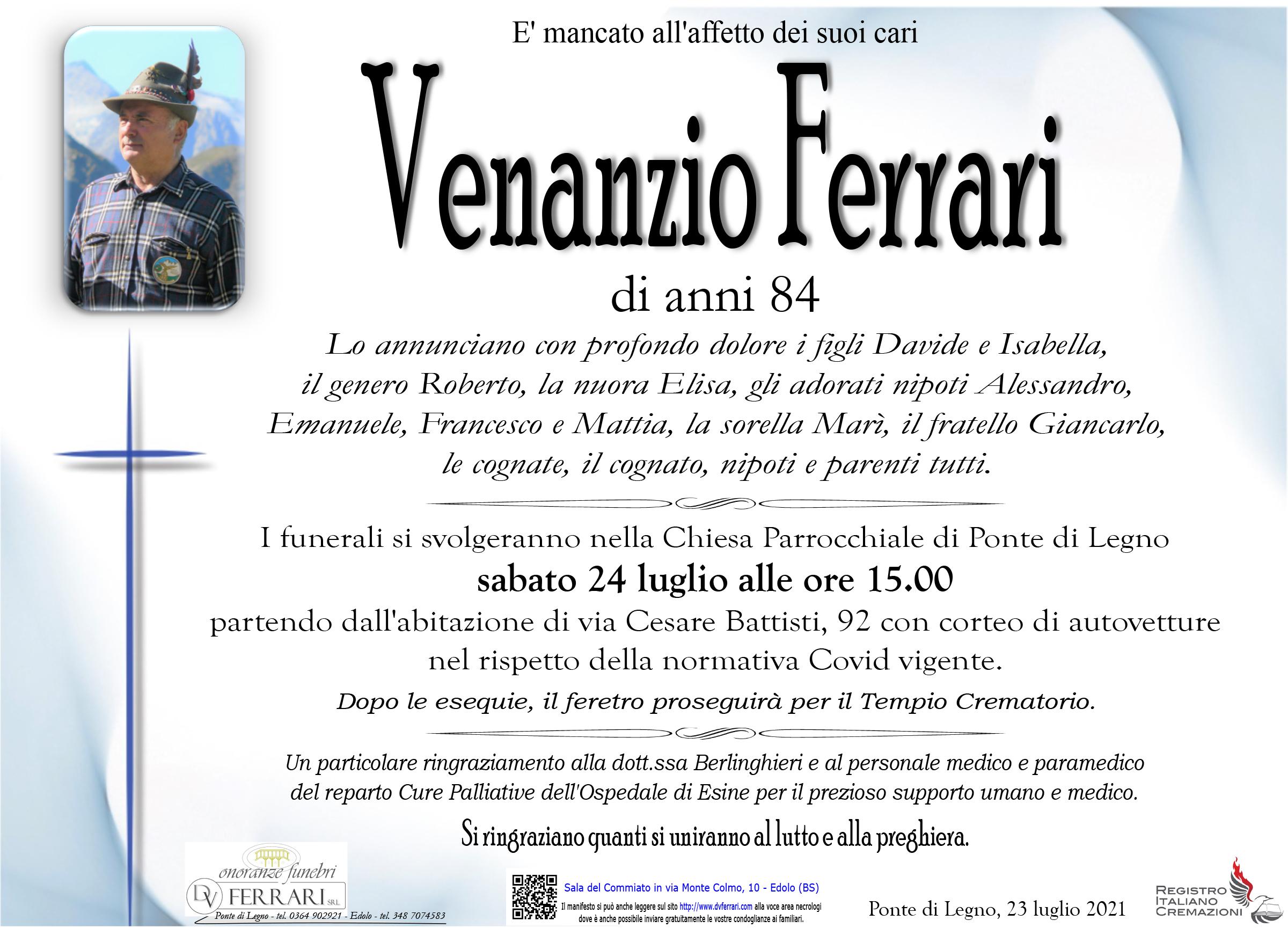 VENANZIO FERRARI - PONTE DI LEGNO