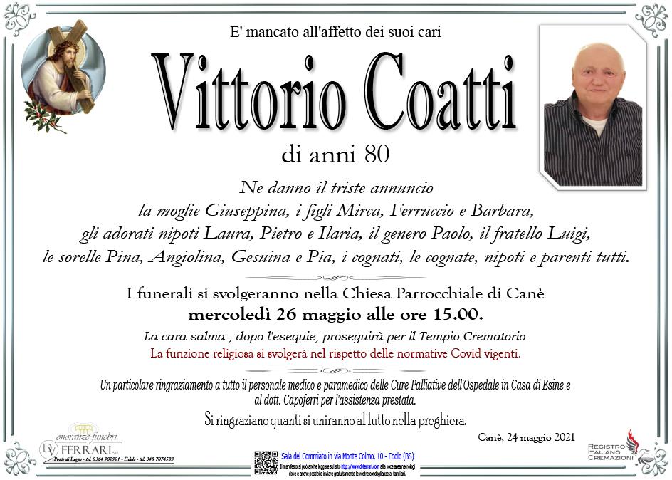 VITTORIO COATTI - CANE' DI VIONE