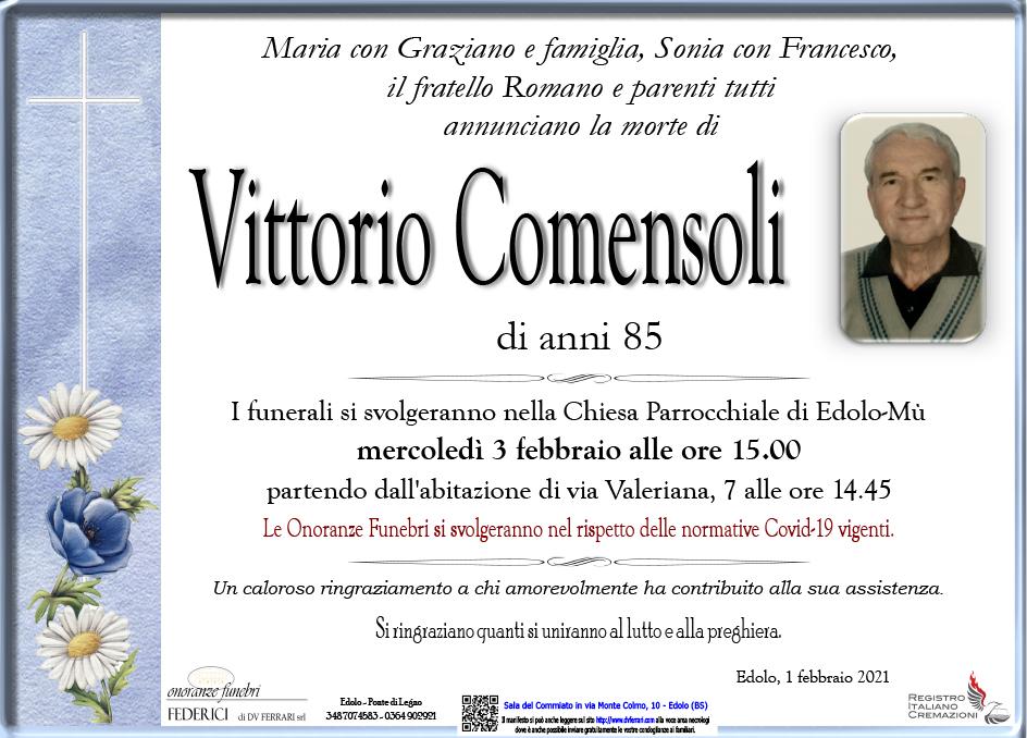 VITTORIO COMENSOLI - EDOLO